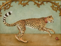 Marque Todd - Portrait of a Cheetah at the French Court