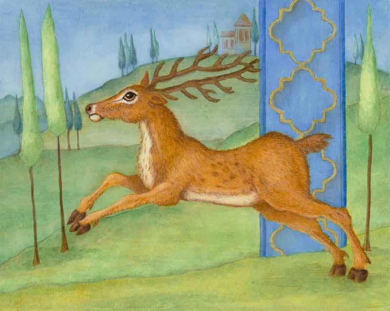 Marque Todd - Illuminated Deer